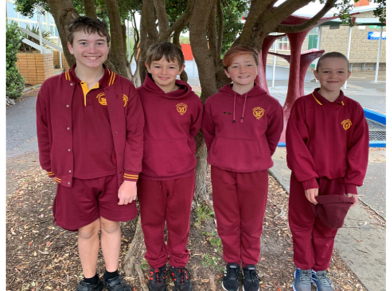 School Captains 2021 Photo